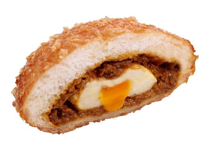 7半熟卵カレーパン