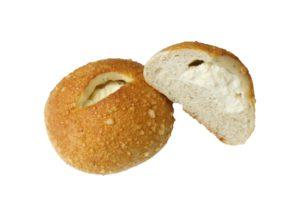 ハーブと全粒粉のチーズパン(切り抜き後)