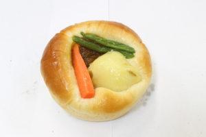 ごろり野菜の焼きカレーパン